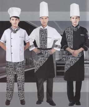 西餐厅厨师服