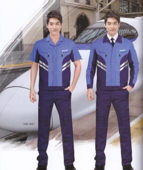 蓝色款工作服