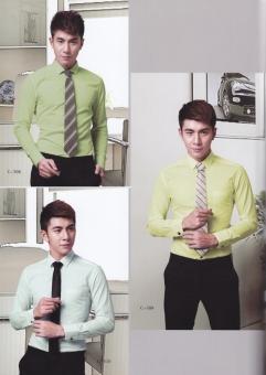 男士纯色衬衣