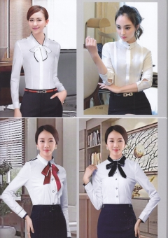 白领修身衬衣